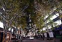 LED illumination alongside Nakadori Street in Marunouchi