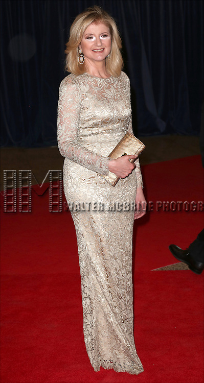 Arianna Huffington attends the 100th Annual White House Correspondents' Association Dinner at the Washington Hilton on May 3, 2014 in Washington, D.C.
