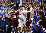 UK Wildcats get in a little scuffle with Bulldogs at Rupp Arena in Lexington, Ky. on Tuesday, January 12, 2016. Photo by Josh Mott | Staff.