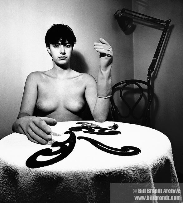 Nude, Hampstead London, 1979, October 27