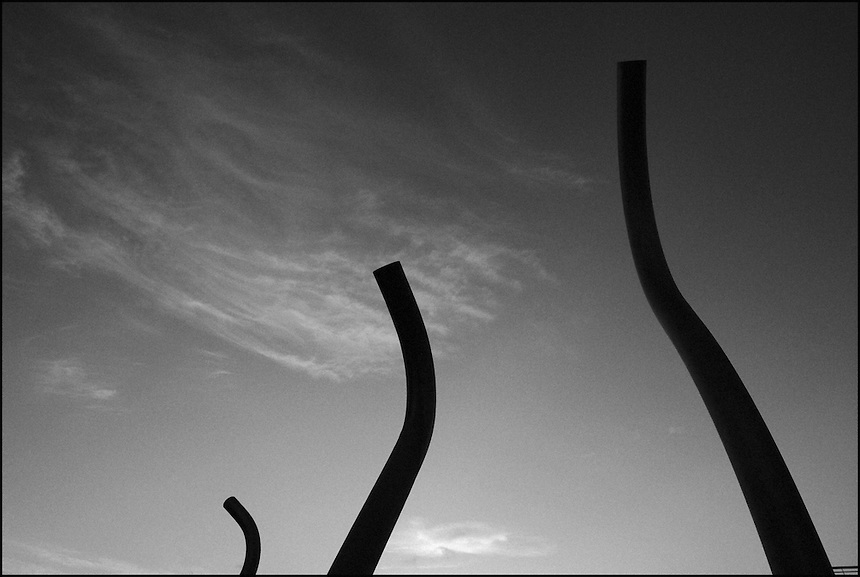 Morninig in South Beach<br /> From &quot;Miami in Black and White&quot; series. Miami Beach, FL, 2009
