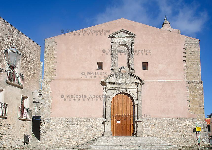 Erice: chiesa di San Giuliano.<br /> Erice: San Giuliano church