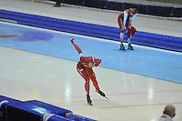 SCHAATSEN: HEERENVEEN: 29-12-2013, IJsstadion Thialf, KNSB Kwalificatie Toernooi (KKT), 1500m, Margot Boer, ©foto Martin de Jong