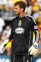 28 AUGUST 2010:  William Hesmer of the Columbus Crew (1) during MLS soccer game between FC Dallas vs Columbus Crew at Crew Stadium in Columbus, Ohio on August 28, 2010.