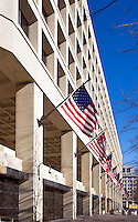 FBI Building Washington DC Architecture