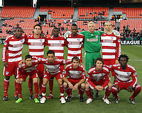 Starting eleven of F.C. Dallas during a US Open Cup match against D.C. United on April 28 2010, at RFK Stadium in Washington D.C. united won 4-2.