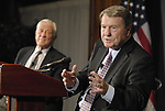 Jim Lehrer with Ben Bradlee, for WETA