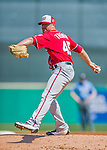 6 March 2016: Washington Nationals pitcher Blake Treinen on the mound during a Spring Training pre-season game against the St. Louis Cardinals at Roger Dean Stadium in Jupiter, Florida. The Nationals defeated the Cardinals 5-2 in Grapefruit League play. Mandatory Credit: Ed Wolfstein Photo *** RAW (NEF) Image File Available ***