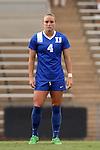 21 August 2015: Duke's Ashton Miller. The Duke University Blue Devils played the Fresno State Bulldogs at Fetzer Field in Chapel Hill, NC in a 2015 NCAA Division I Women's Soccer game. Duke won the game 5-0.
