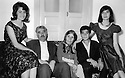 Iran 1956 In Ourmieh, from left to right,Basri,Agha Fatolla, his wife Mariam, sister of Abdul Rahman Ghassemlou, Said and Azar  Iran 1956 Une famille kurde a Ourmieh: Agha fatolla avec sa femme Mariam, soeur de Abdul Rahman Ghassemlou et leurs enfants