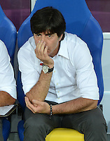FUSSBALL  EUROPAMEISTERSCHAFT 2012   VORRUNDE Daenemark - Deutschland       17.06.2012 Trainer Joachim Loew (Deutschland)
