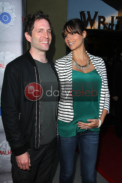 Glenn Howerton, Jill Latiano<br /> at the HBO Premiere of &quot;The Normal Heart,&quot; WGA Theater, Beverly Hills, CA 05-19-14<br /> David Edwards/DailyCeleb.com 818-249-4998