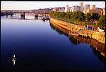 Portland, Oregon is situated on the Willamette River.