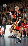 Handball Herren, Laenderspiel, UNIVERSA-CUP Hanns-Martin-Schleyerhalle Stuttgart (Germany) Nationalmannschaften, Deutschland - Tschechien Stefan Kretzschmar (GER) wirft den Ball
