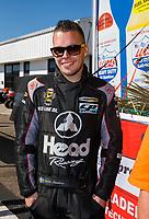Mar 19, 2017; Gainesville , FL, USA; NHRA funny car driver Jonnie Lindberg during the Gatornationals at Gainesville Raceway. Mandatory Credit: Mark J. Rebilas-USA TODAY Sports