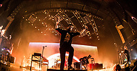 LAS VEGAS, NV - April 14, 2017: ***HOUSE COVERAGE*** Bastille performs at The Chelsea at The Cosmopolitan of Las Vegas in Las Vegas, NV on April 14, 2017. <br /> CAP/MPI/EKP<br /> &copy;EKP/MPI/Capital Pictures