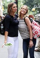 NEW YORK, NY-September 09: Paula Faris, Sara Haines at the View in New York. NY September 09, 2016. Credit:RW/MediaPunch