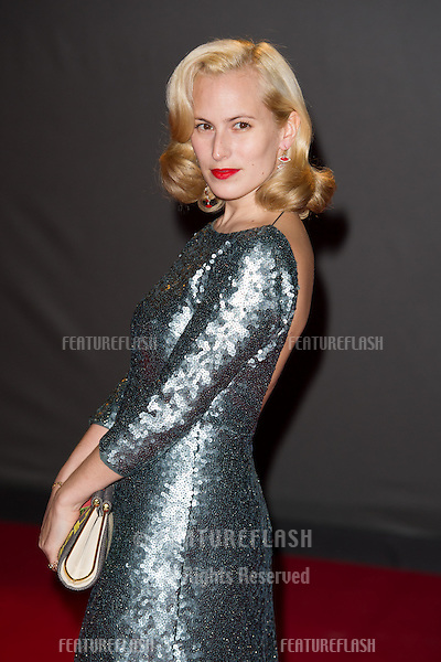 Charlotte Dellal arrives for the British Fashion Awards 2013 at the Colliseum, St.Martin's Lane, London. 02/12/2013 Picture by: Dave Norton / Featureflash