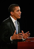 Chicago, IL - December 18, 2008 -- United States President-elect Barack Obama introduces Mary Schapiro, CEO of the Financial Industry Regulatory Authority (FINRA), as his choice to head the U.S. Securities and Exchange Commission (SEC), Gary Gensler, as head the Commodities Futures Trading Commission (CFTC), and Daniel Tarullo to the Federal Reserve Board of Governors during a press conference at the Drake Hotel December 18, 2008 in Chicago, Illinois. .Credit: Scott Olson - Pool via CNP