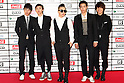 TOKYO - MAY 29: Big Bang band members arrive at the red carpet of the World Stage MTVJ 2010 show, May 29, 2010 at Yoyogi National Stadium in Tokyo, Japan.