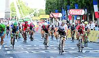 Picture by Simon Wilkinson/SWpix.com - 24/07/2016 - Cycling Tour de France Stage - 21, Chantilly - PARIS Champs Elysees - Andre Greipel wins