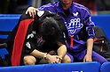 Jun Mizutani, JANUARY 22, 2012 - Table Tennis : All Japan Table Tennis Championships Men's Singles final at Tokyo Metropolitan Gymnasium, Tokyo, Japan. (Photo by Jun Tsukida/AFLO SPORT) [0003].
