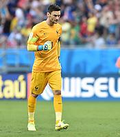 FUSSBALL WM 2014  VORRUNDE    GRUPPE E     Schweiz - Frankreich                   20.06.2014 Torwart Hugo Lloris (Frankreich)