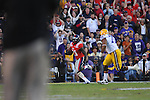Ole Miss defensive back Senquez Golson (21) intercepts in the end zone in the third quarter vs. LSU at Tiger Stadium in Baton Rouge, La. on Saturday, November 17, 2012. LSU won 41-35.....