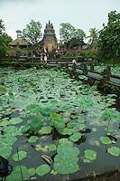 The fabulous Lotus Pond temple in Ubud, Bali