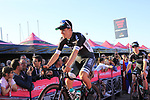 Bora-Hansgrohe at the Team Presentation in Alghero, Sardinia for the 100th edition of the Giro d'Italia 2017, Sardinia, Italy. 4th May 2017.<br /> Picture: Eoin Clarke | Cyclefile<br /> <br /> <br /> All photos usage must carry mandatory copyright credit (&copy; Cyclefile | Eoin Clarke)