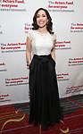 Andrea Burns attends The Actors Fund Annual Gala at the Marriott Marquis on 5/8//2017 in New York City.