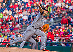 7 April 2016: Miami Marlins pitcher David Phelps on the mound during the Washington Nationals Home Opening Game at Nationals Park in Washington, DC. The Marlins defeated the Nationals 6-4 in their first meeting of the 2016 MLB season. Mandatory Credit: Ed Wolfstein Photo *** RAW (NEF) Image File Available ***