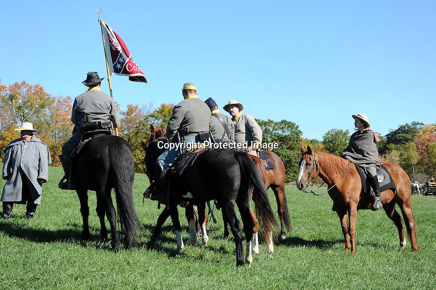 Confederate Cavalry Drill | Carita Aarnio