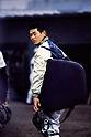 Masumi Kuwata (PL Gakuen), DECEMBER 1984 - Beseball : Practice at PL Gakuen training ground in Osaka, Japan. (Photo by Katsuro Okazawa/AFLO)84_12  PL