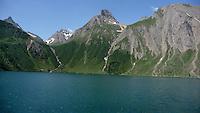 Piemonte, Val Formazza, Lago di Morasco.<br /> Piedmont, Formazza valley, Lake Morasco.