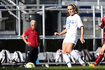 26 October 2014: Duke's Schuyler DeBree. The Duke University Blue Devils hosted the Boston College University Eagles at Koskinen Stadium in Durham, North Carolina in a 2014 NCAA Division I Women's Soccer match. Duke won the game 2-1 in overtime.