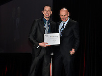Montreal, CANADA, March 24, 2015 .<br /> <br /> Aerospatiale HEMMINGFORD aerospace awarded <br />  at STIQ Gala