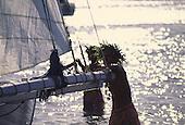 Tahiti Fete, Outrigger Canoe, Papeete, Tahiti, French Polynesia<br />