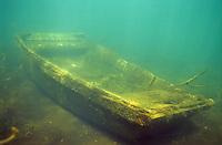 Underwater Scene-Sunken Boat<br /> <br /> ENGBRETSON UNDERWATER PHOTO