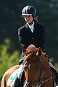 Shino Yamanaka (JPN), OCTOBER 29, 2011 - Modern Pentathlon : The 2nd All Japan Women's Modern Pentathlon Championships show jumping at Bajikoen, Tokyo, Japan. (Photo by YUTAKA/AFLO SPORT) [1040]