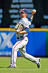 16 September 2007: Atlanta Braves right fielder Jeff Francoeur in action against the Washington Nationals at Robert F. Kennedy Memorial Stadium in Washington, DC. The Braves shut out the Nationals 3-0 to take the third game of their 3-game series.. .Mandatory Photo Credit: Ed Wolfstein Photo
