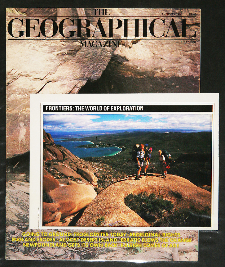 Image used in Geographic Magazine