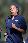 14 October 2014: Syndney Leroux. The United States Women's National Team held a training session on the stadium field at Swope Park Soccer Village in Kansas City, Missouri in preparation for the CONCACAF Women's World Cup Qualifying Tournament for the 2015 Women's World Cup in Canada.