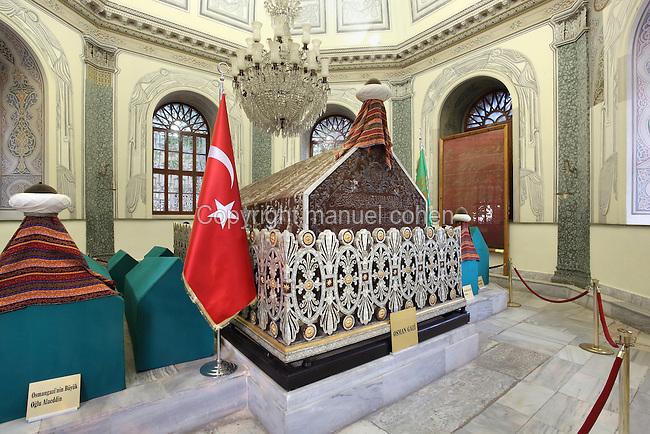 Tomb of Osman Gazi, Bursa, Turkey  Manuel Cohen