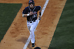 Mississippi's Matt Snyder scores vs. Murray State in college baseball action at Oxford-University Stadium in Oxford, Miss. on Tuesday, April 27, 2010.
