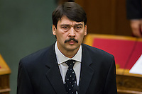 Janos Ader swearing in ceremony