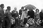 Ireland The Troubles. Belfast 1980s. Bobby Sands, was the leader of the IRA Hunger Strike at Long Kesh, and while on Hunger Strike was elected as an MP for Fermanagh and South Tyrone.His funeral May 1981.