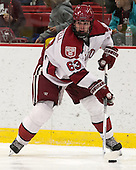 Colin Blackwell (Harvard - 63) - The Harvard University Crimson defeated the Colgate University Raiders 4-1 (EN) on Friday, February 15, 2013, at the Bright Hockey Center in Cambridge, Massachusetts.
