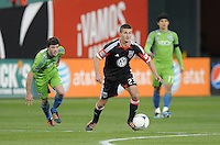 D.C. United midfielder Perry Ktichen (23) D.C. United tied the Seattle Sounders, 0-0 at RFK Stadium, Saturday April 7, 2012.