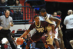 Mississippi State's Arnett Moultrie (23) vs. Ole Miss' Murphy Holloway (31) at the C.M. &quot;Tad&quot; Smith Coliseum in Oxford, Miss. on Wednesday, January 18, 2012. (AP Photo/Oxford Eagle, Bruce Newman).